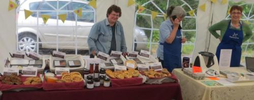 Debbie Grant offers a delicious array of goodies on her stall Debbie's Home Cooked Foods