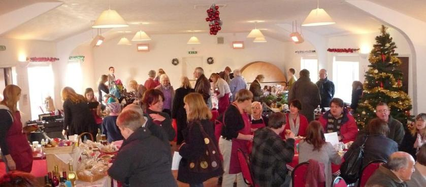 Our very first market, Christmas 2012.